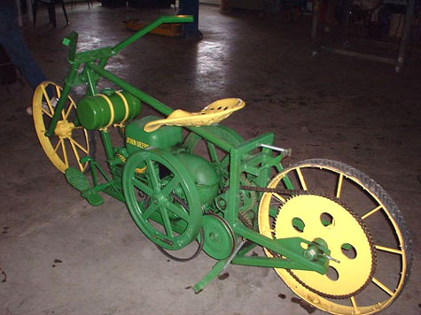 Велосипед John Deere