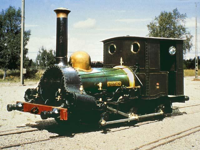 Первый шведский локомотив Firstling